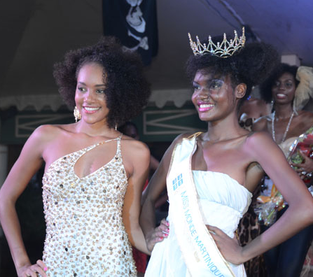 Miss Monde Martinique 2011 Winner Axelle Perrier