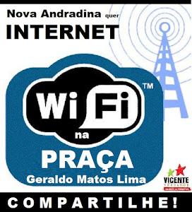 INTERNET NA PRAÇA