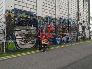 Hunting for Robocar Poli @ Gaya Street!  .... Pencarian yang berjaya