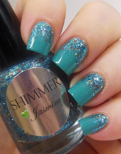 Shimmer Polish Jasmine swatch