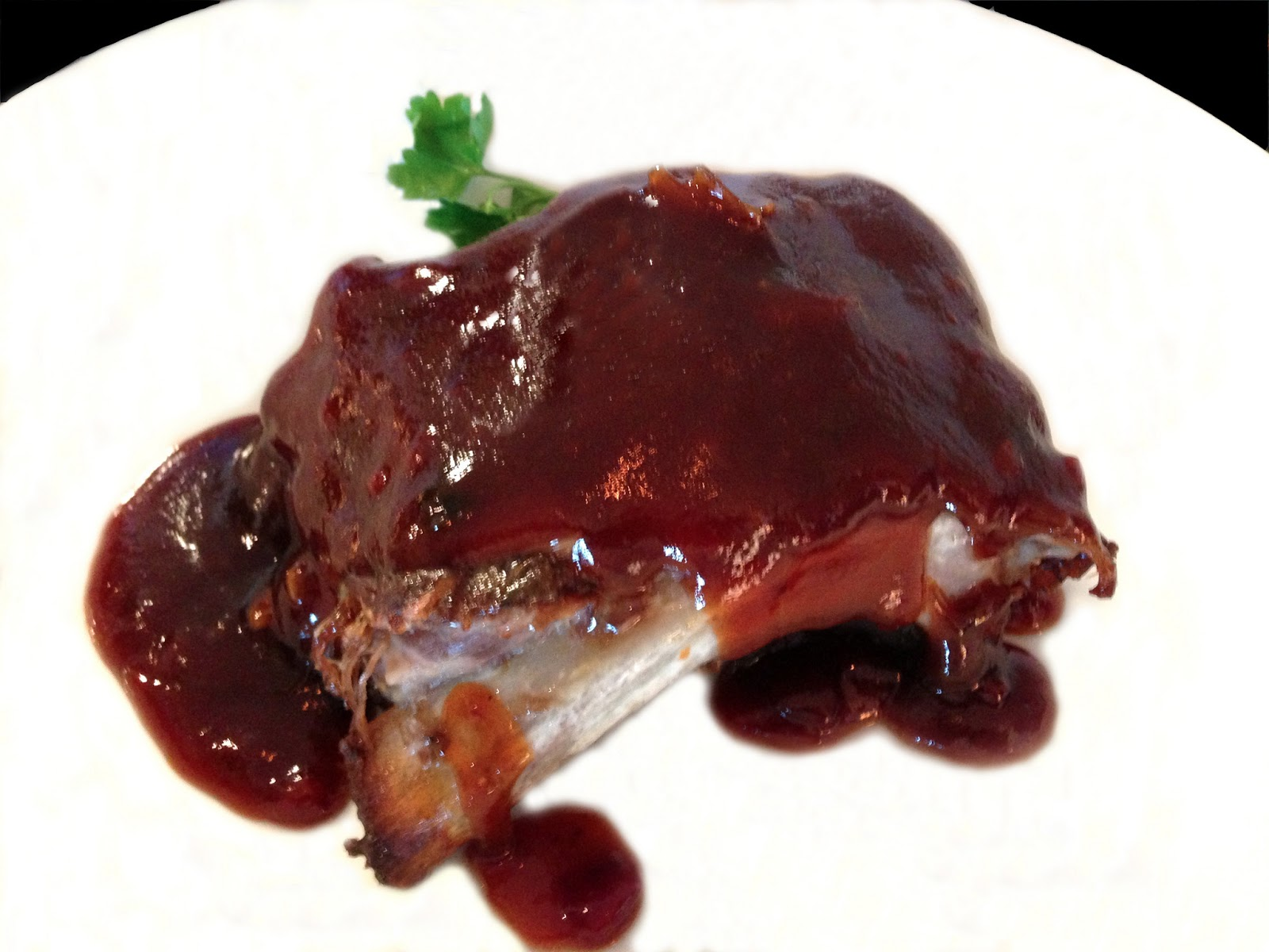 oven roasted ribs with barbecue sauce recipes dishmaps oven baked ...