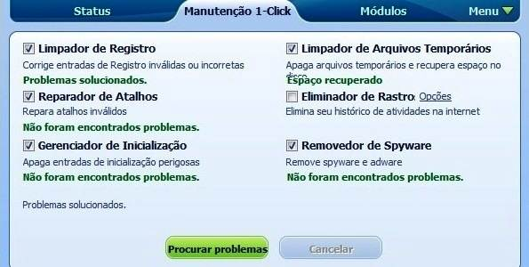 Problemas do PC solucionados com o Glary Utilities