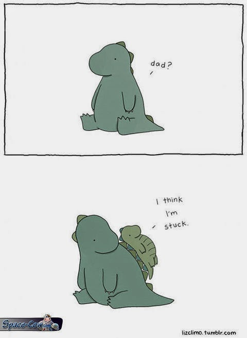 funny comics dino picture