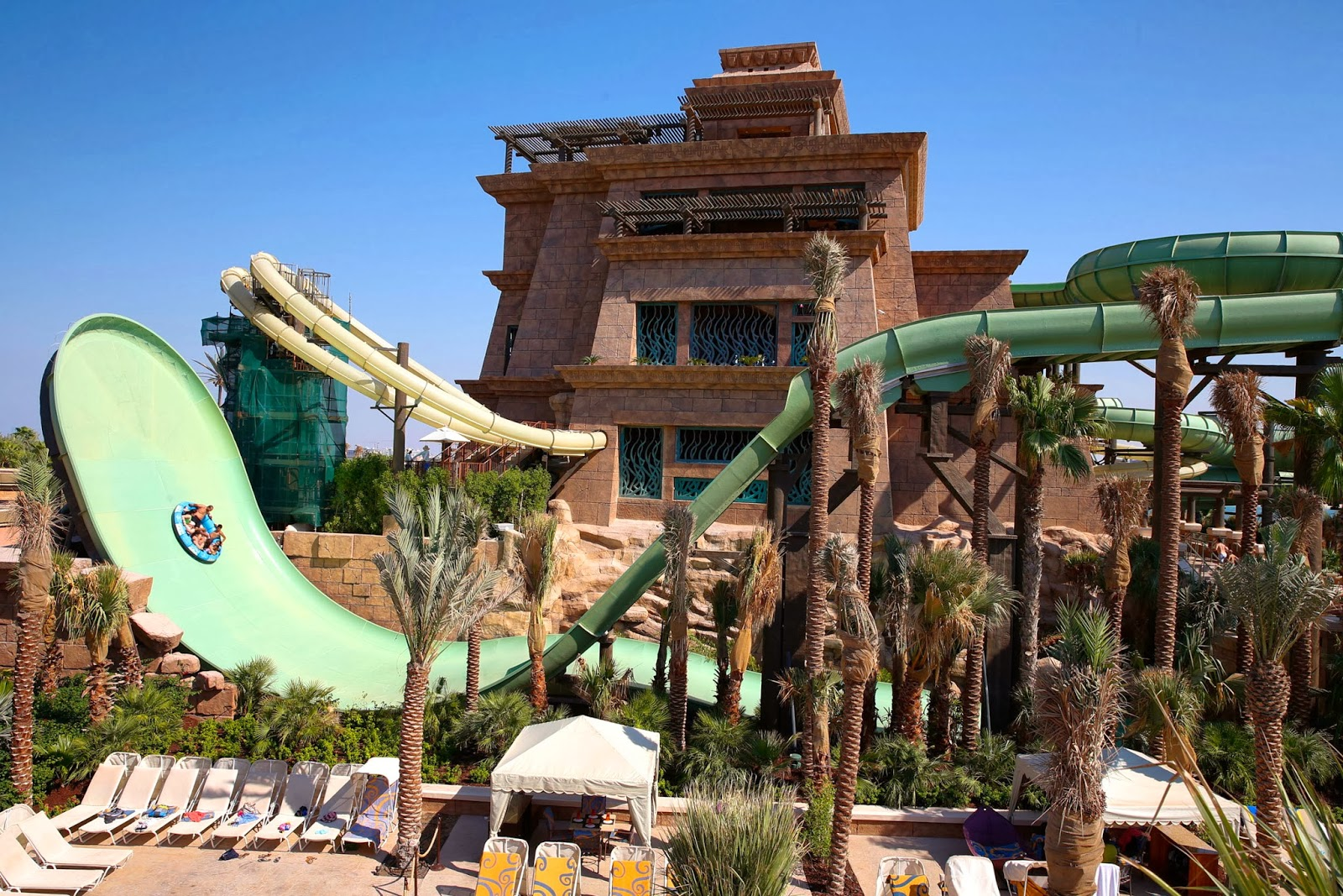 NewsPlusNotes: Beautiful New Slide Tower Now Open at Atlantis The Palm