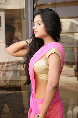 Saree side view Malayalam actress photos