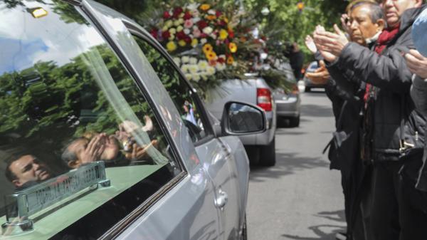 * Fotos del adiós a Pocho La Pantera