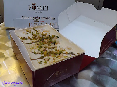 tiramisù Pompi Roma pistacchio