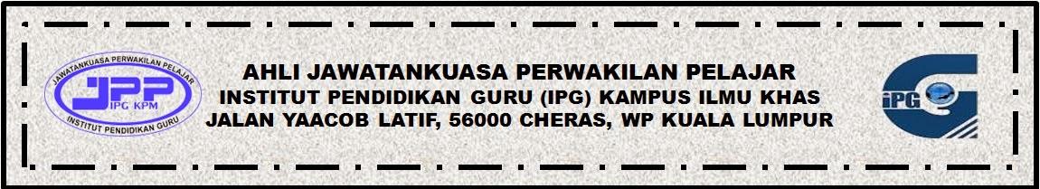 :: JPP IPG KAMPUS ILMU KHAS ::
