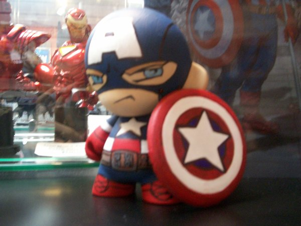 Munny: Captain America por KidNotorious