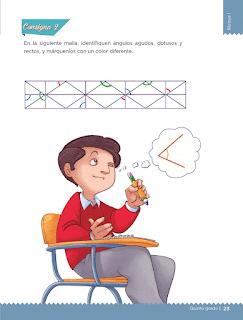 Respuestas Apoyo Primaria Desafíos matemáticos 5to grado Bloque I lección 9 Diferentes ángulos