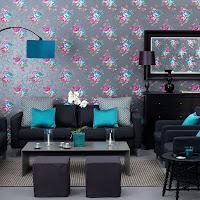salas con colores vivos