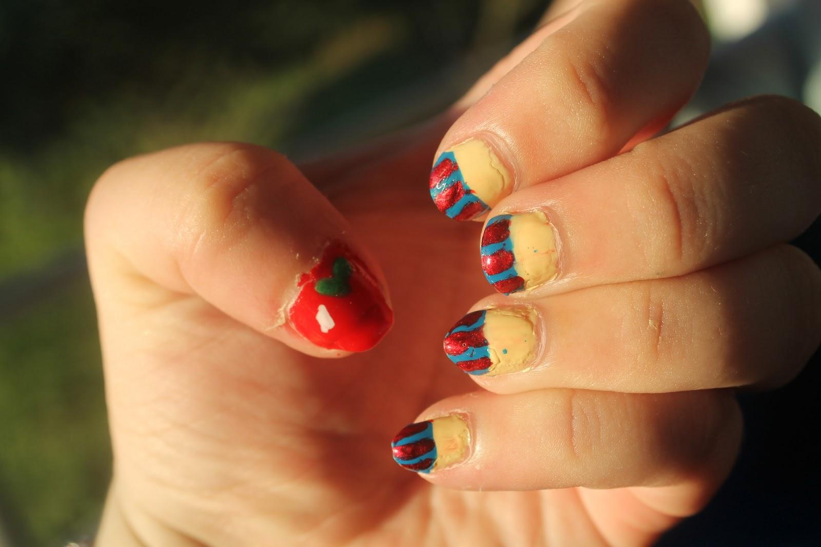 Budget Splurge Beauty: *Disney Inspired* Snow White Nails!
