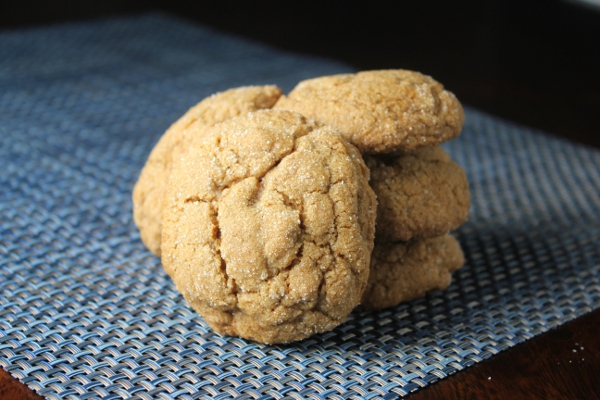 Kitchen Trial and Error: pumpkin gingersnap cookies