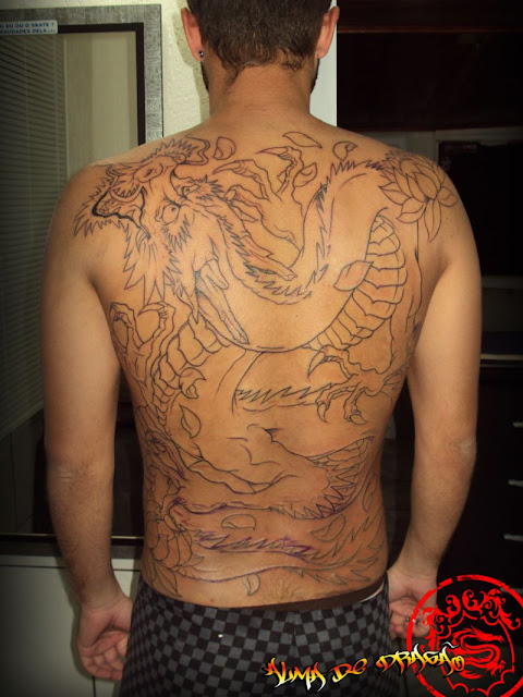 tattoo dragão - tatuagem dragão orietal