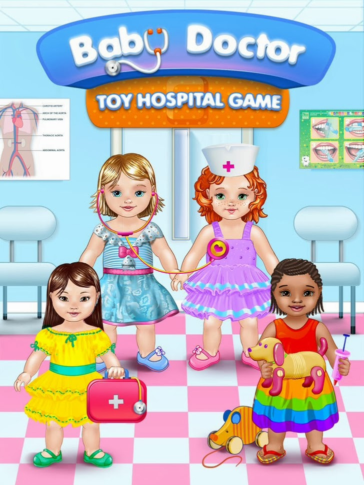 Baby Doctor - Toy Hospital Game App iTunes App By Kids Fun Club by TabTale - FreeApps.ws