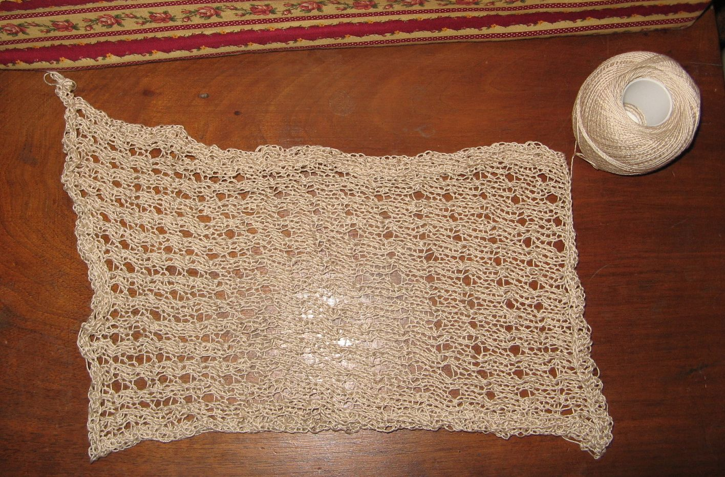 One More Stitch: Reticule or Knitting Bag