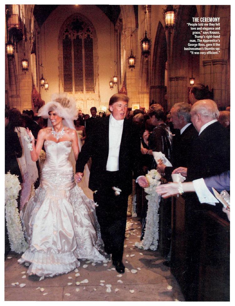 Melania Trump Wedding Traffic Club