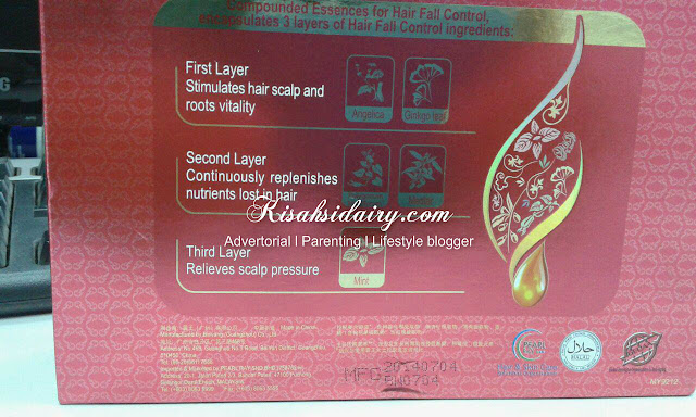 BAWANG Ladies Hair Fall Control Set
