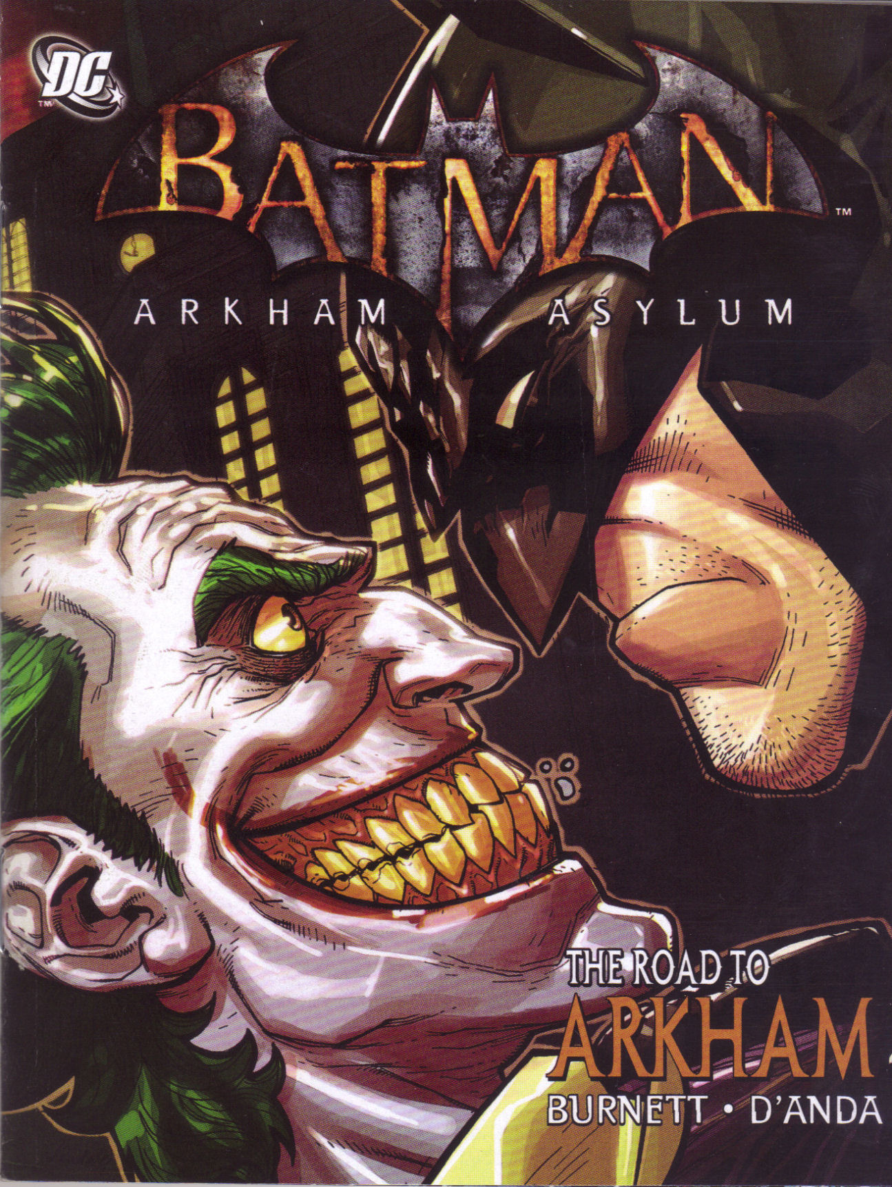 Batman: Arkham Asylum: The Road to Arkham 1 Page 1