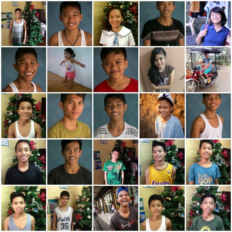 25 Young people will be blessed and feel special this Christmas