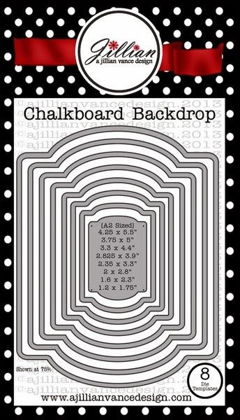 Chalkboard Backdrop die