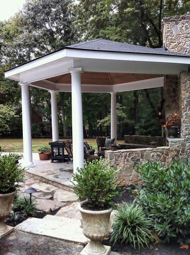 landscape design ideas ideas for an outdoor gazebo
