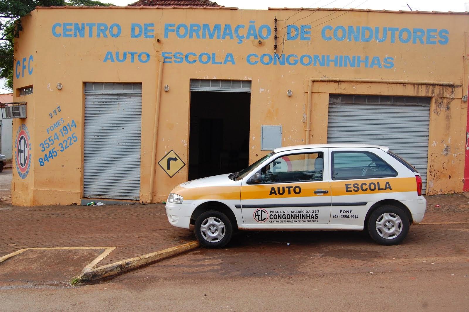 AUTO ESCOLA-CONGONHINHAS...