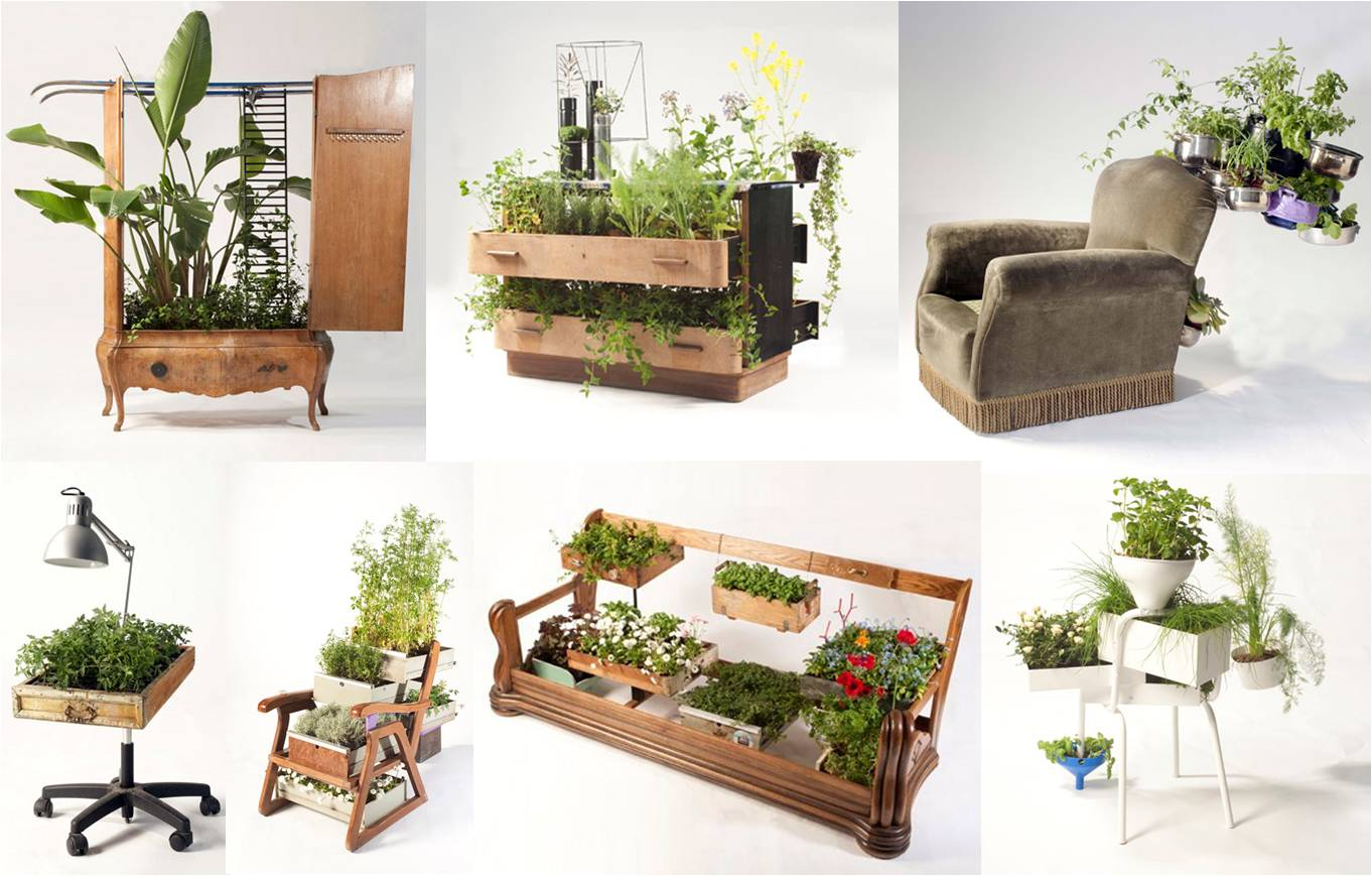 Decorando dormitorios macetas originales para tu terraza - Macetas interior ...
