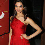 Deepika Padukone Looks Super sexy In Red Dress At Radio 92.7 BIG FM Studios in Andheri, Mumbai