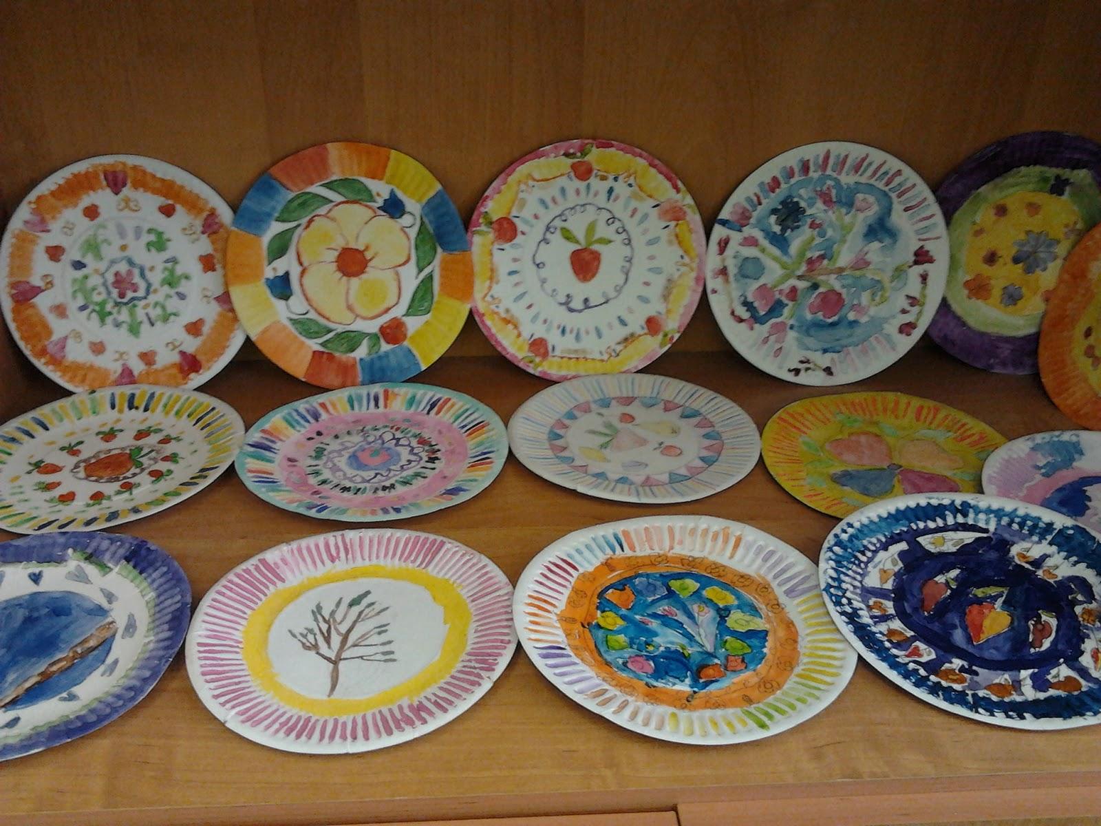 Рисунки на посуде своими руками фото 86