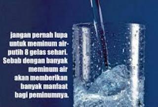 Manfaat Air Putih Bagi Tubuh