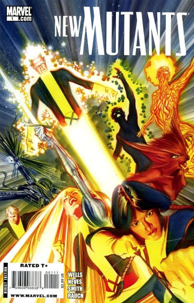 New Mutants (Vol 1) # 50 Fine (FN) Marvel Comics MODERN AGE