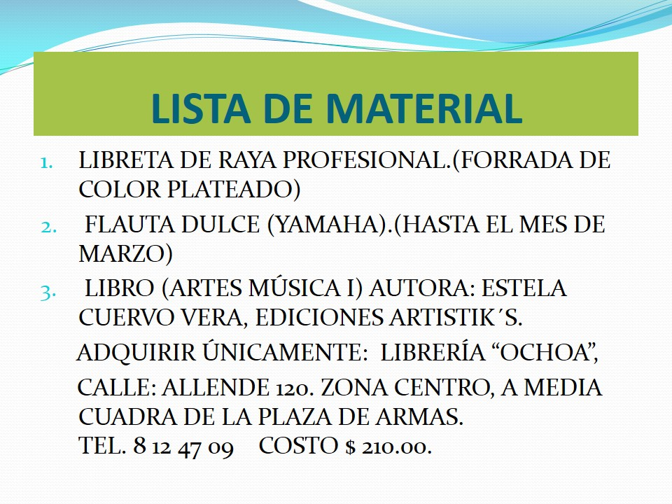 ESCUELA SECUNDARIA TECNICA N°69: ENCUADRES ARTES PRIMER GRADO