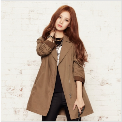Korean Coat Style by Tiffany and Seohyun
