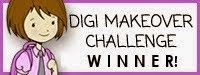 Paper Makeup Stamp challenge