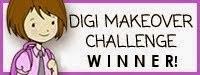 Paper Makeup Stamp challenge