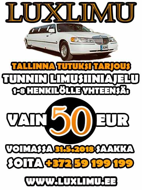 Tallinnan parhaat limusiinit!