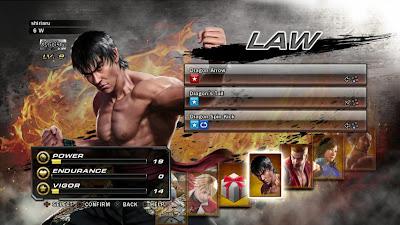 Tekken Revolution Character Impression