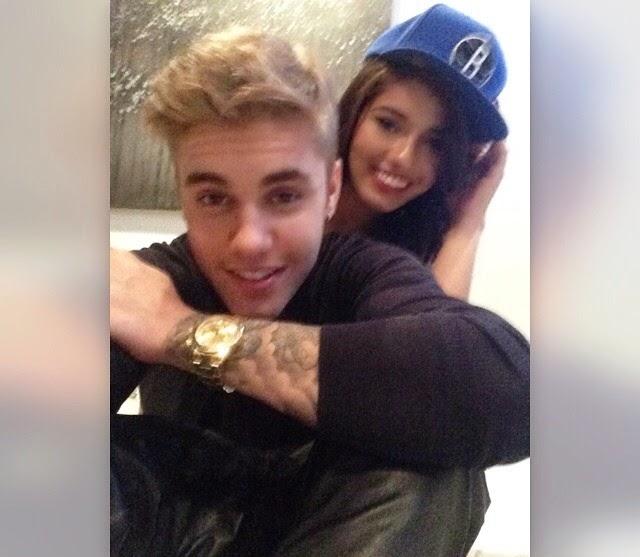 Justin Bieber y su nuevo amor......