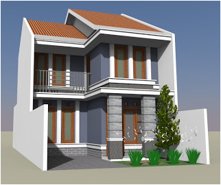 inspirasi fasad rumah tingkat minimalis - godean.web.id