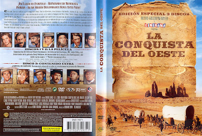 Carátula, cover, dvd: La conquista del Oeste | 1962 | How the West Was Won
