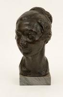 JOSEP CLARÁ Busto de la pintora Mme. Guy Lentif c. 1920