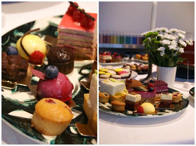 Cupcakes, Törtchen, Naschereien für Blogger. Partisserie Düsseldorf