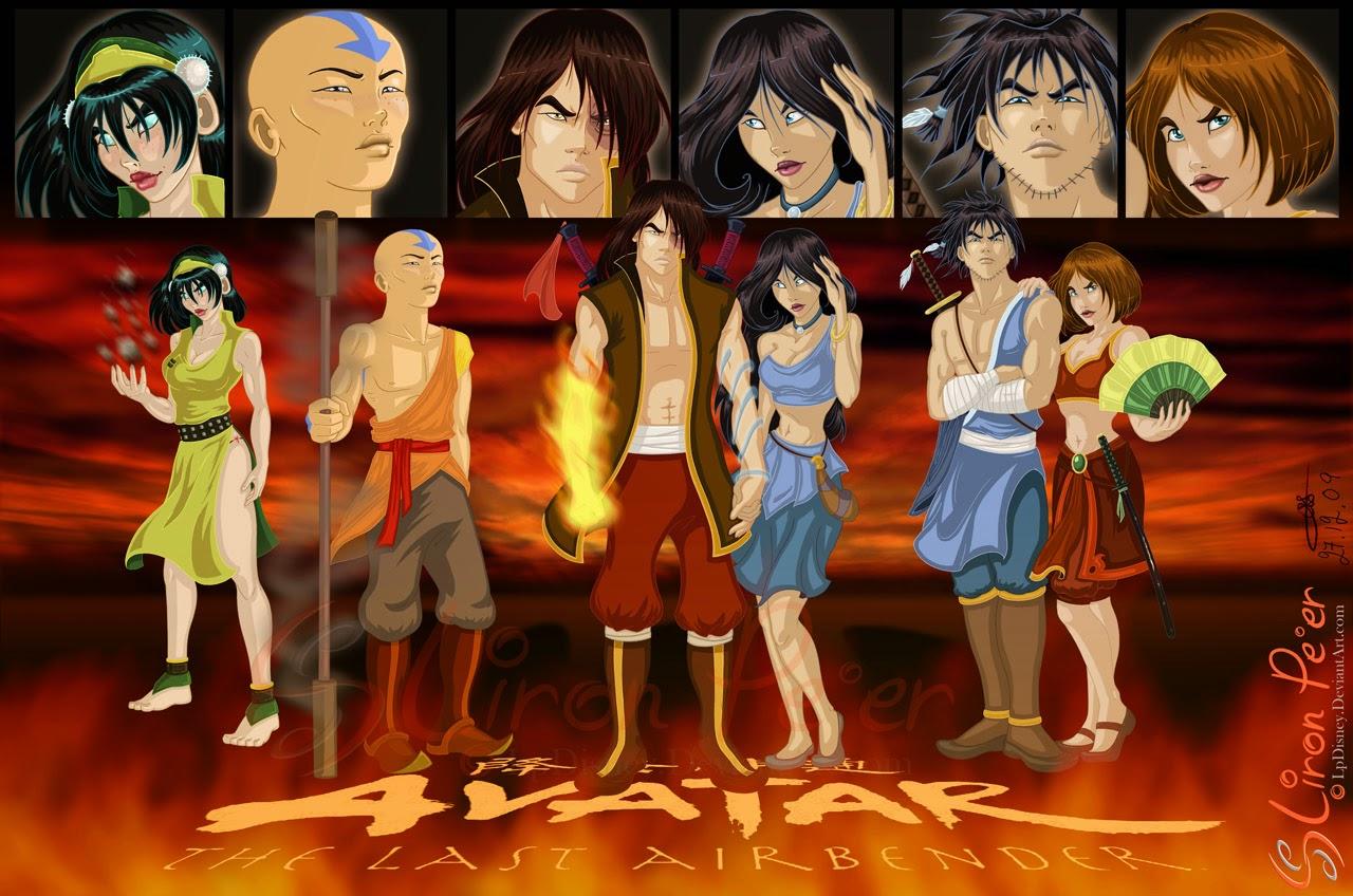 Avatar The Last Airbender Characters As Adults Kumpulan Gambar Avatar...