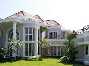 Contoh Rumah dengan Jendela uPVC