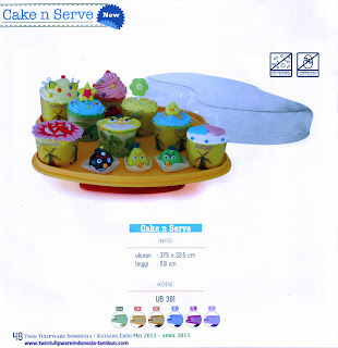 Info & Harga Twin Tulip Tulipware 2014 : Cake And Serve