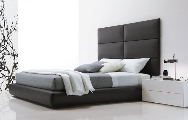 Chambre noir et blanc design id es d co moderne - Chambre moderne noir et blanc ...