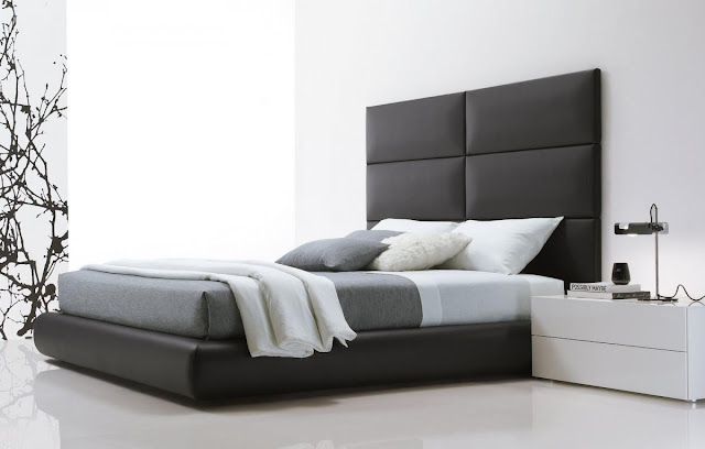 Cuisine Ikea Ringhult Avis : Chambre A Coucher Moderne Noir Et Blanc  Chambre noir et blanc design