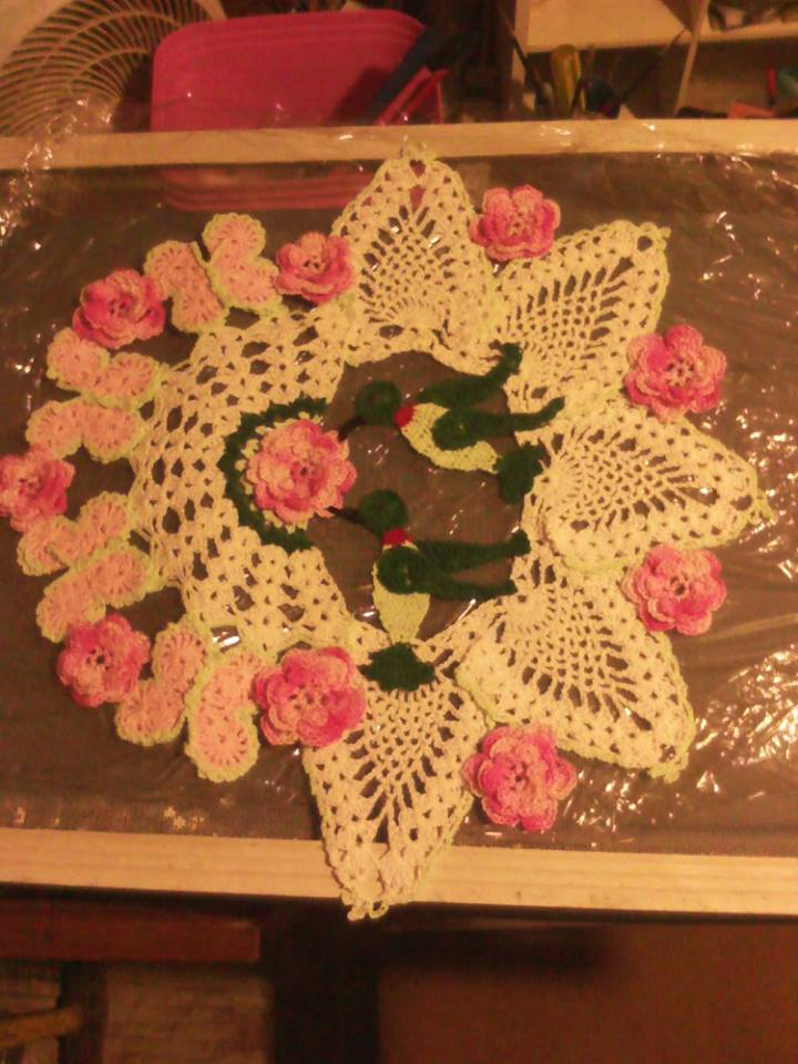 Free Crochet Hummingbird Doily Pattern : Crocheting and life in general: What I have made in the ...
