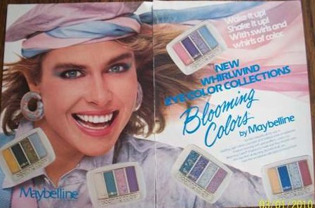 SPRINKLES AND PUFFBALLS: 1980s Makeup and Beauty